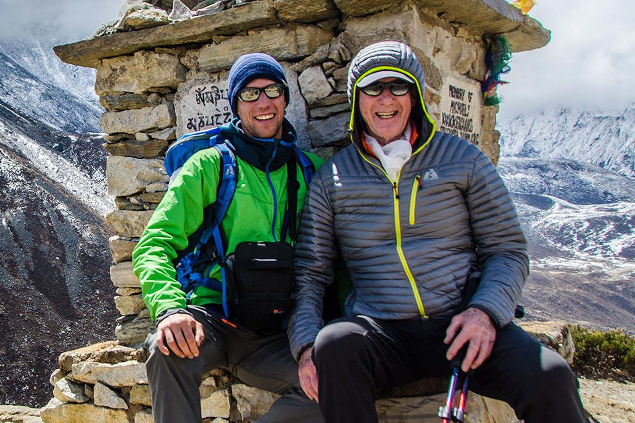 Father, son to share stories of the mountains