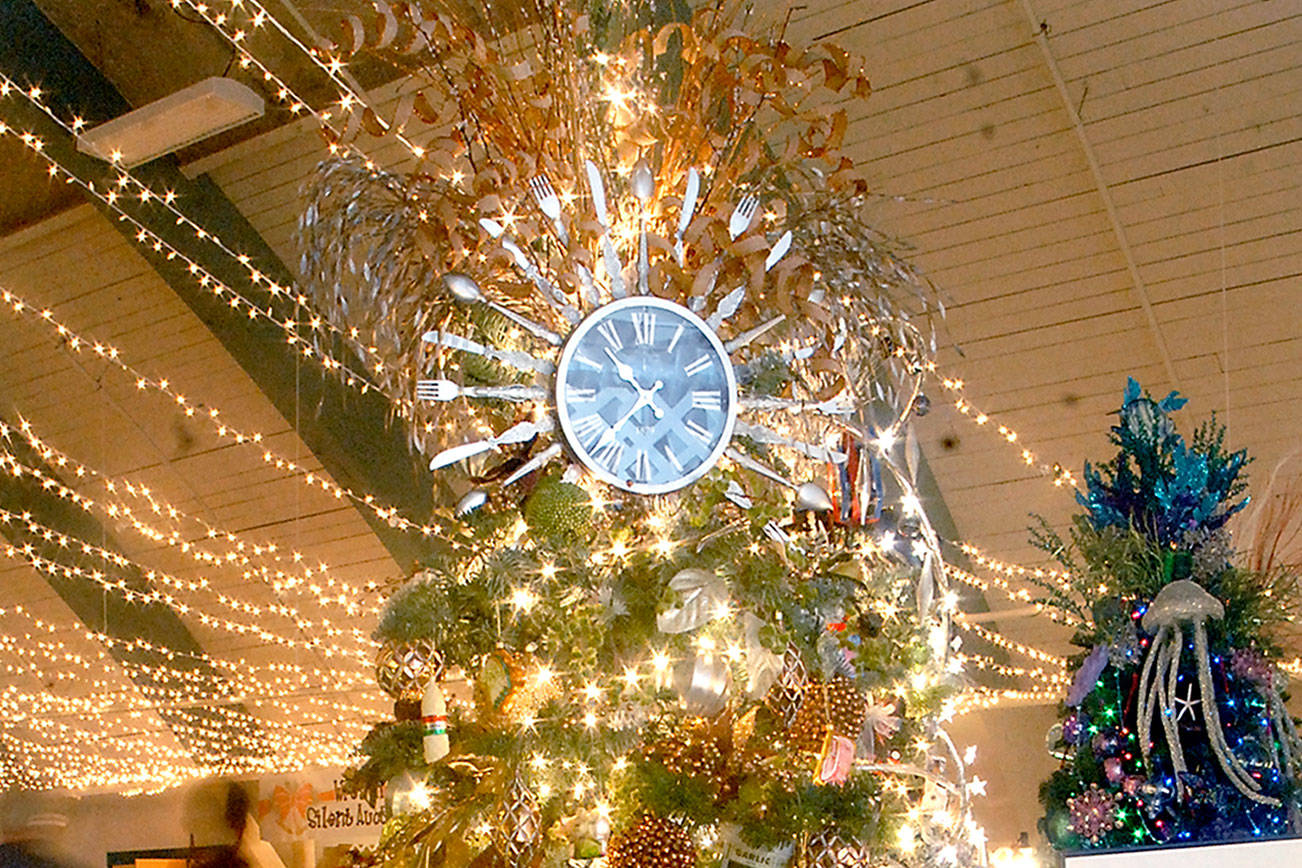 Festival of Trees offers view of decorations, gingerbread houses in Port Angeles