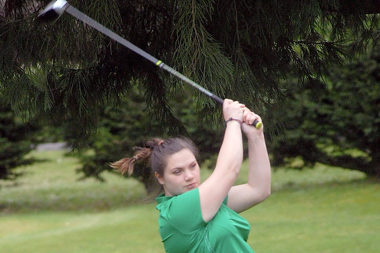PREP SPORTS ROUNDUP: Port Angeles golfers split with Kingston