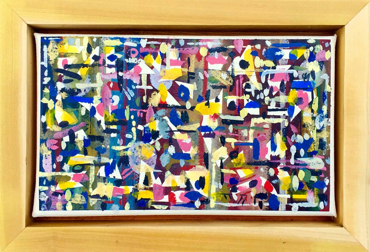 """Artwork by Mike Biskup, titled """"December."""""""