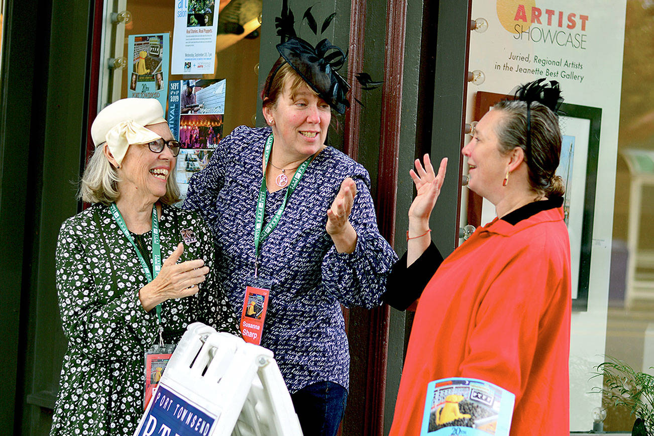 Port Townsend Film Fest brings movies, actors — and a big dog