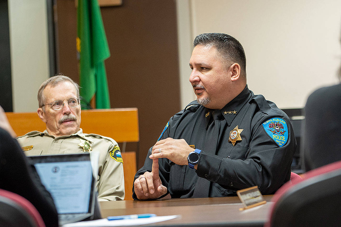 Clallam County, Lower Elwha Klallam Tribe cross-deputization pact considered