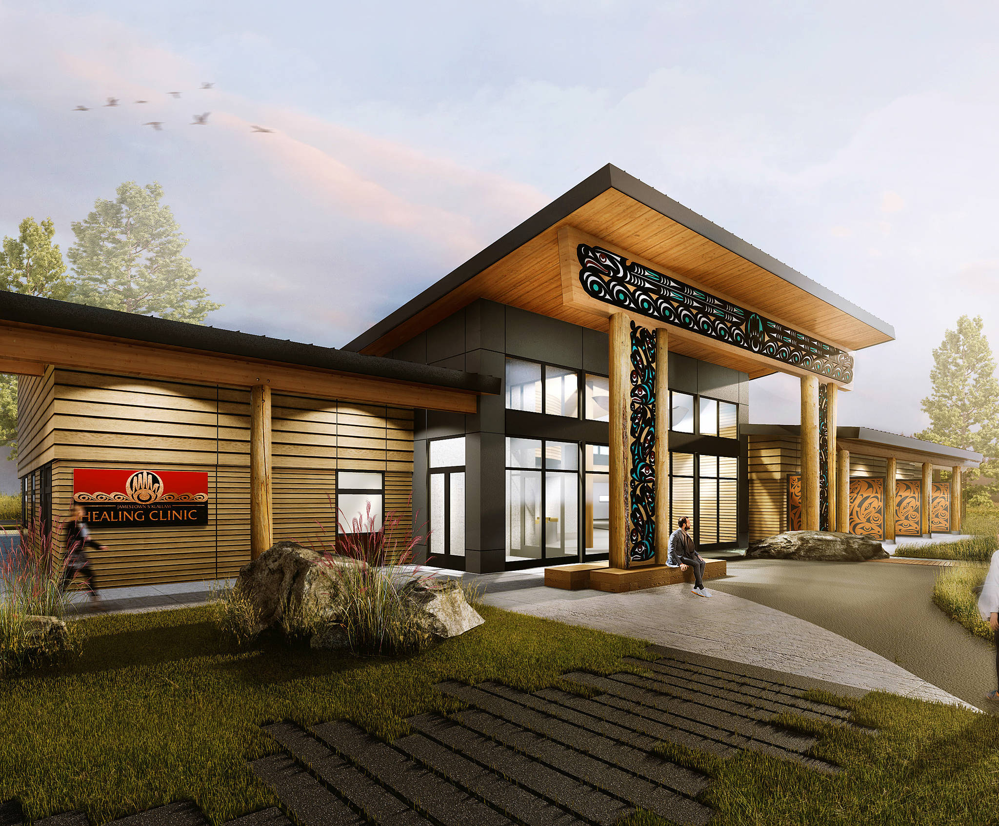 The Jamestown S'Klallam Tribe submitted its application for a medication-assisted treatment (MAT) clinic Jan. 10. (City of Sequim)