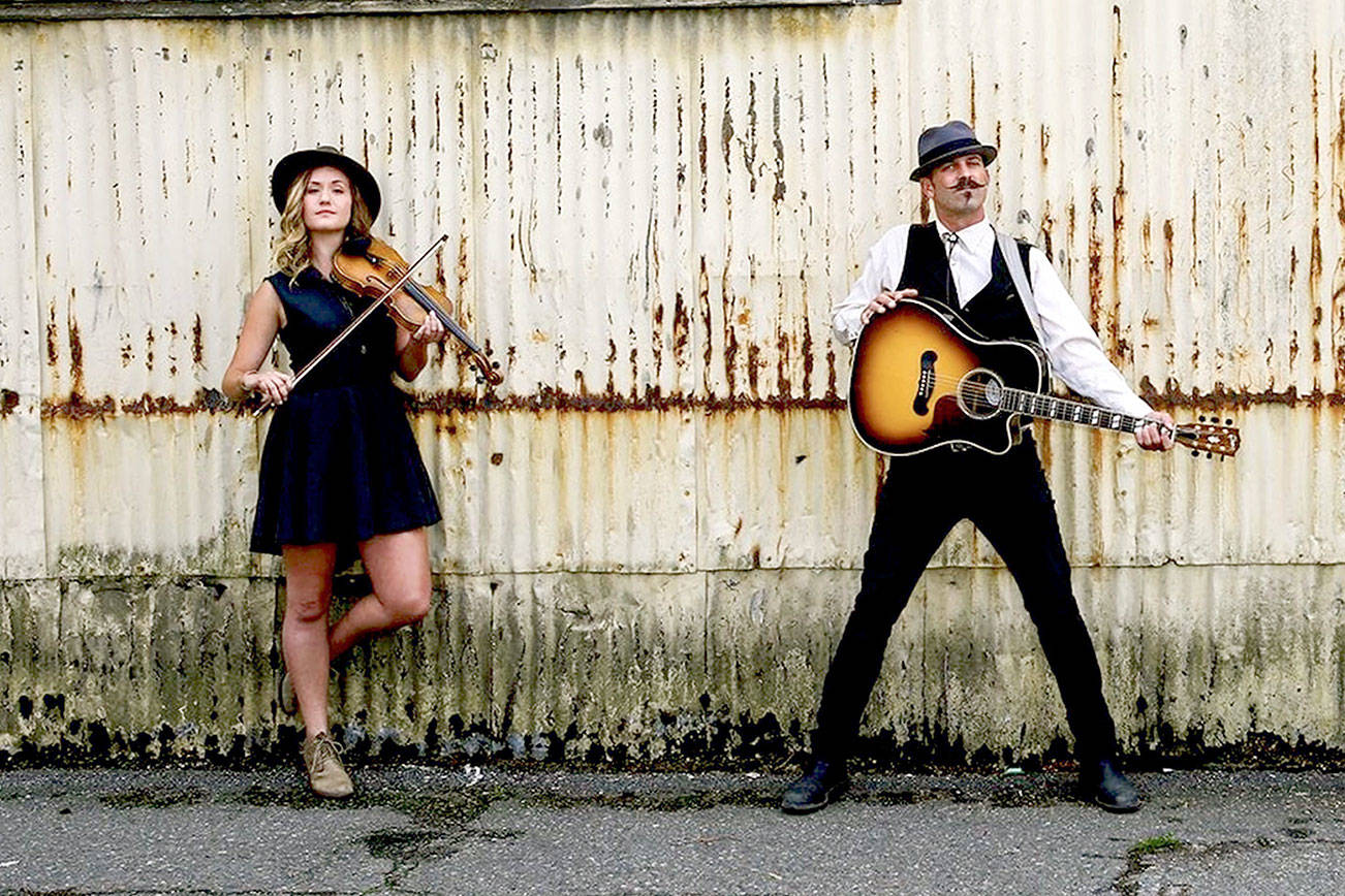 "The Crushwater duo — Chandra Johnson and Scott Sullivan — will give an ""In [Your] Living Room"" concert online Friday."