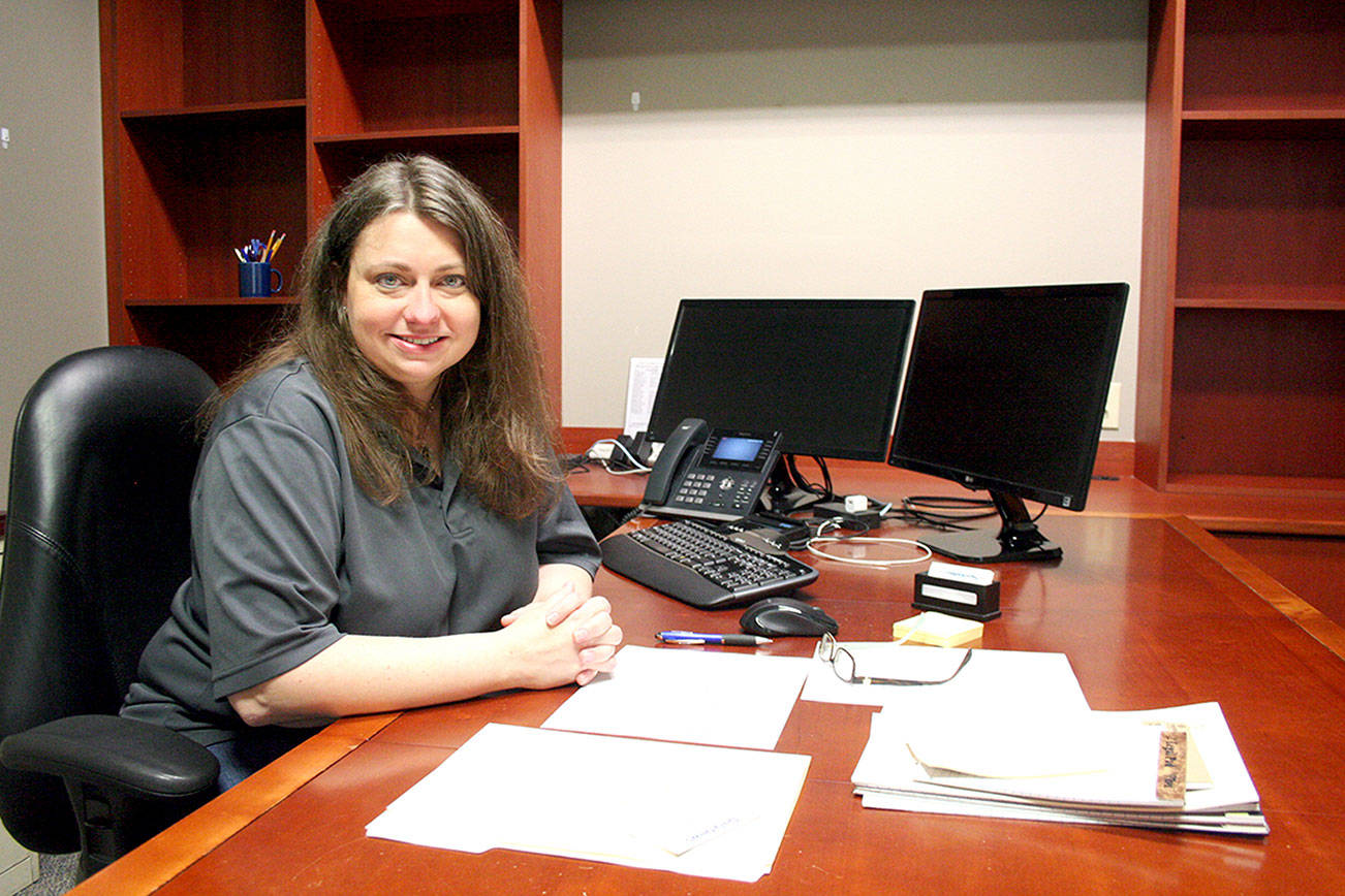 Cherish Cronmiller is the executive director for Olympic Community Action Programs. (Brian McLean/Peninsula Daily News)