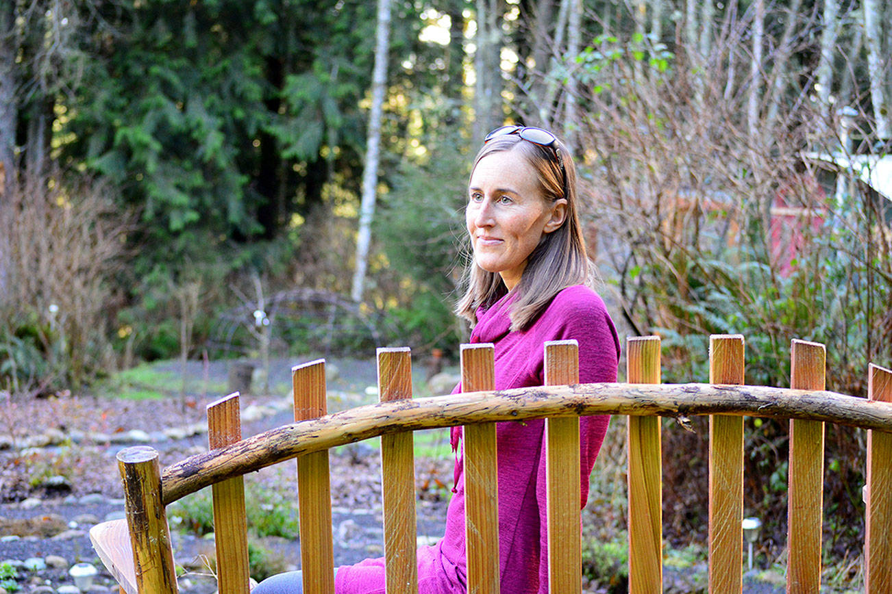 Erin Reading is cofounder of the Port Townsend Psychedelic Society, which seeks the decriminalization of psilocybin mushrooms and psychoactive plants. Diane Urbani de la Paz/Peninsula Daily News