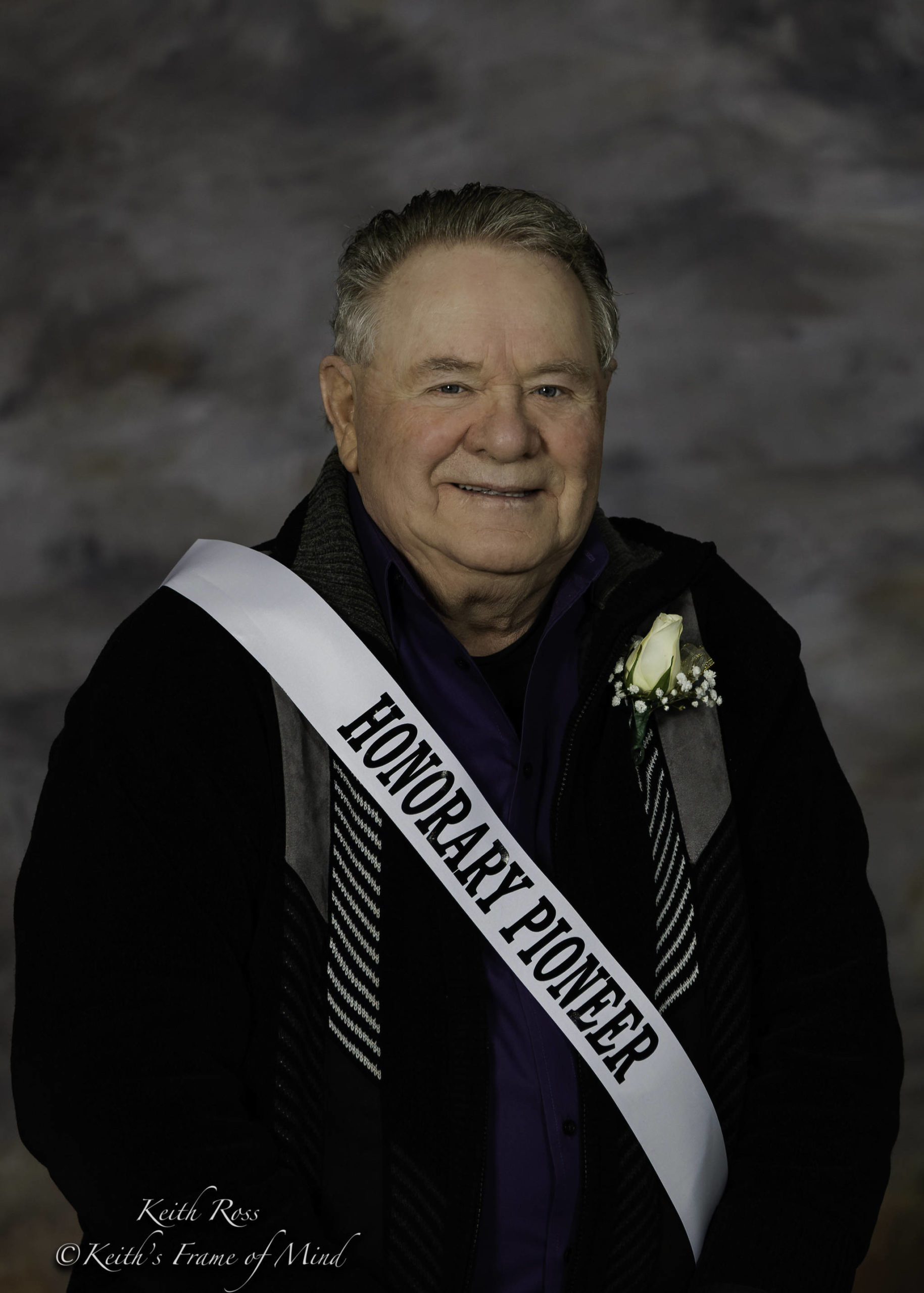 """Richard """"Dick"""" Parker, Honorary Pioneer for the 2021 Sequim Irrigation Festival. Photo by Keith Ross/Keith's Frame of Mind"""